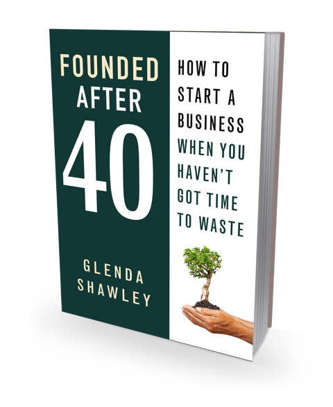book cover picture for Founded after 40